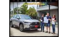 ส่งมอบรถ-โตโยต้าcross-1-8hybrid-premium-สีmet-s-คุณธีระ-และครอบครัว-ลู